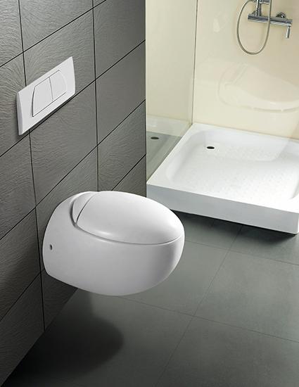 Burgtal 17713 keramik h nge wand wc toilette kreta inkl - Modele de toilette wc ...