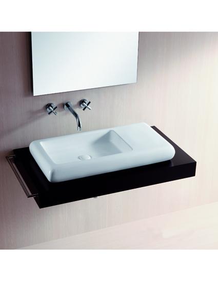 burgtal design keramik aufsatz waschbecken waschschale handwaschbecken bkw 02 ebay. Black Bedroom Furniture Sets. Home Design Ideas