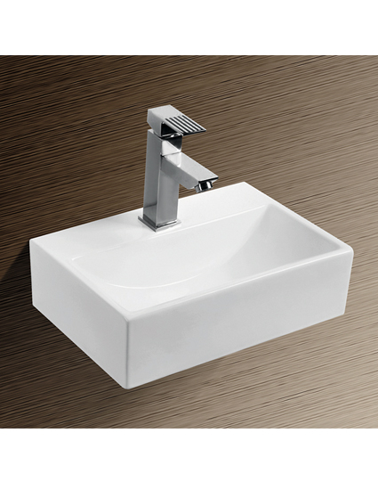 burgtal 17538 design keramik wandmontage waschbecken. Black Bedroom Furniture Sets. Home Design Ideas