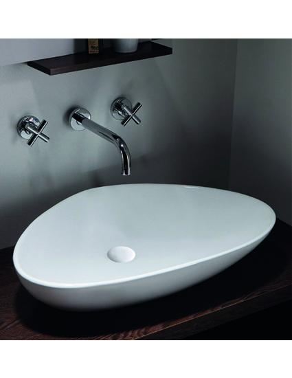 burgtal 17541 design keramik aufsatz waschbecken. Black Bedroom Furniture Sets. Home Design Ideas