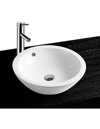 17796 keramik aufsatz waschbecken waschschale handwaschbecken bkw 20 ebay. Black Bedroom Furniture Sets. Home Design Ideas