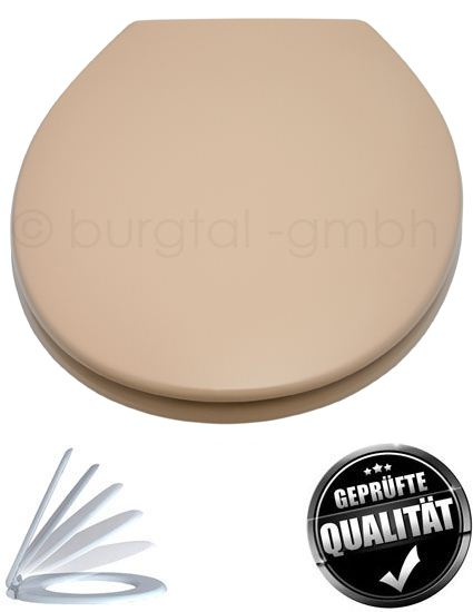 design wc sitz deckel bd 11 mit absenkautomatik beige soft. Black Bedroom Furniture Sets. Home Design Ideas