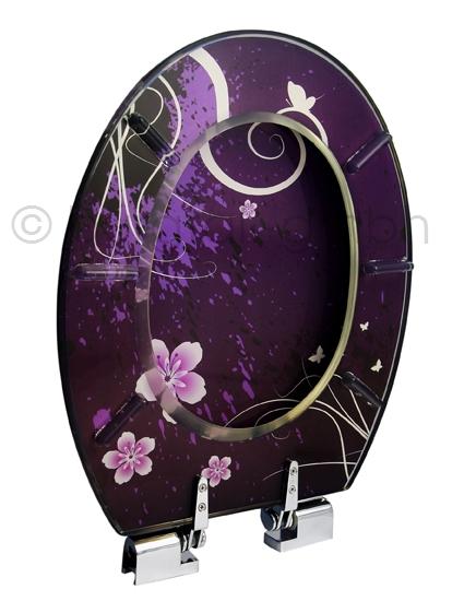 design wc sitz wc deckel mit absenkautomatik aus polyresin bp 2 ebay. Black Bedroom Furniture Sets. Home Design Ideas